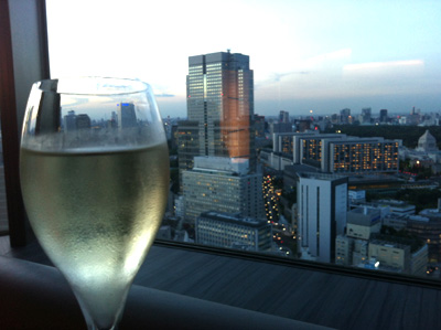ANAインターコンチネンタルホテル東京で飲み放題