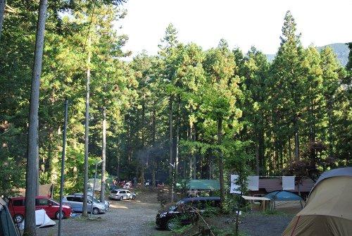 椿荘キャンプ場