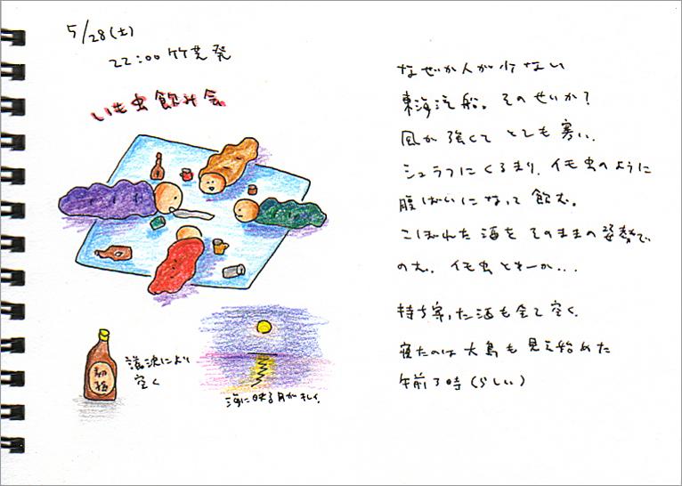 式根島2007_1_甲板最高