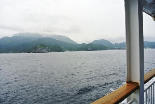 神津島2014_その2_雨降り海めぐり