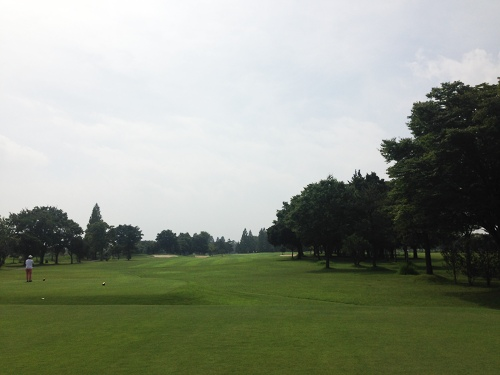 板倉ゴルフ場_猛暑の中のプレイ