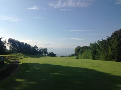 昇仙峡カントリークラブ_八ヶ岳を眺めながらゴルフ