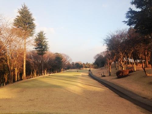 冬休みゴルフ1_喜連川カントリー倶楽部