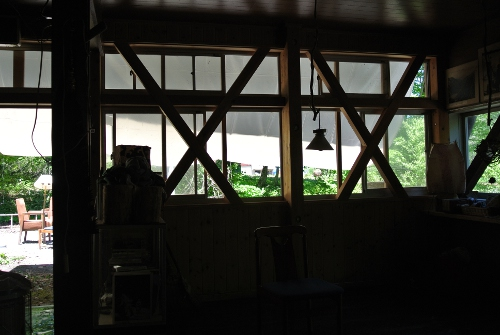 小白沢ヒュッテ2015年小屋開け_2日目_まさかの迂回で遠回りな帰り道