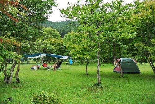 東古屋湖キャンプ_1日目_次々到着