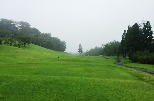 アローエースゴルフクラブ_東古屋湖キャンプ2日目のはじまり