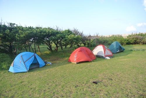 大島キャンプ2015初秋_霧の三原山