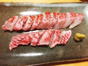 釣魚料理_オジサンの鍋と刺し身