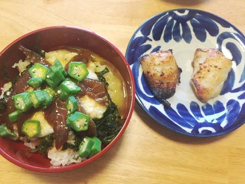 釣魚料理_メジナのべっこう丼とブダイの塩麹漬け