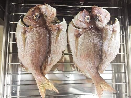 釣魚料理_チダイの干物