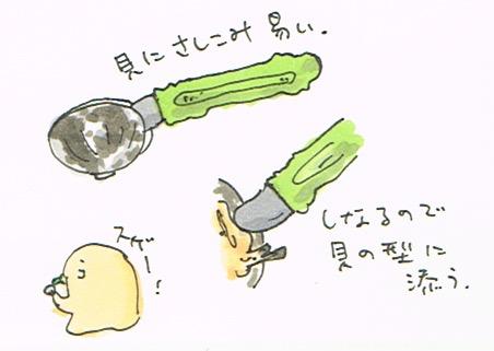 アサリ専用ナイフ