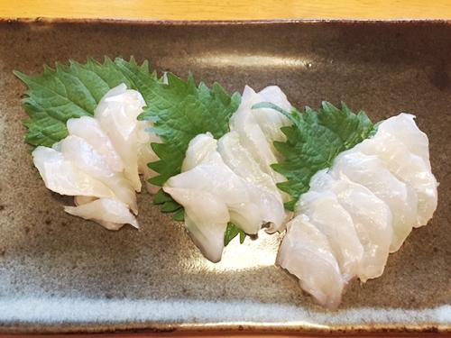 釣魚料理_カワハギの刺身