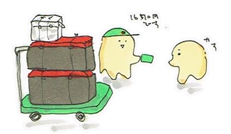 ヤマト便で荷物を発送
