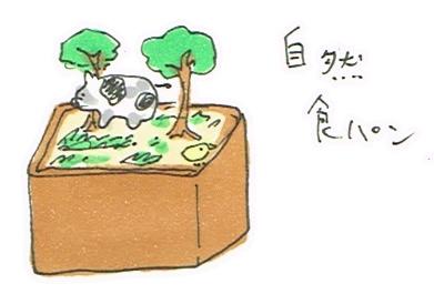 自然食パン