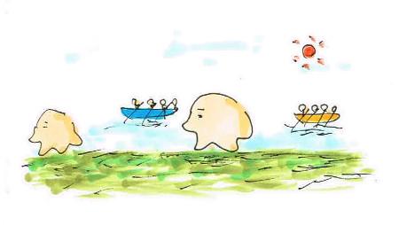 ボート会場
