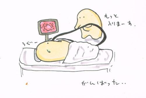 胃カメラ初体験~なぜかダイビングを思い出す