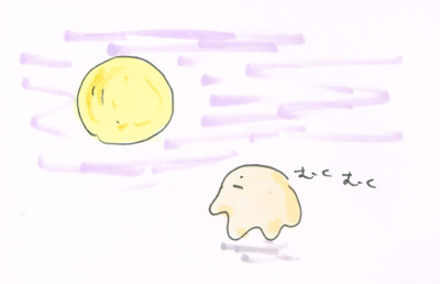 満月に向かって太る説