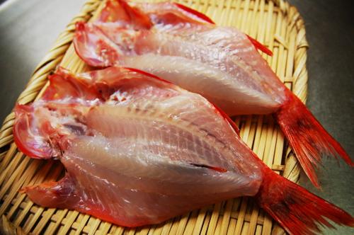 釣魚料理_オジサンの煮付、刺身、干物