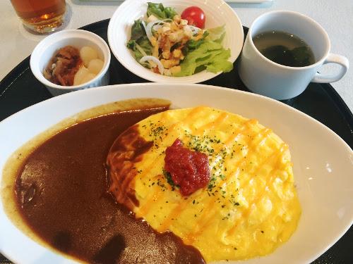 新武蔵丘ゴルフコース_食事_チーズオムカレー