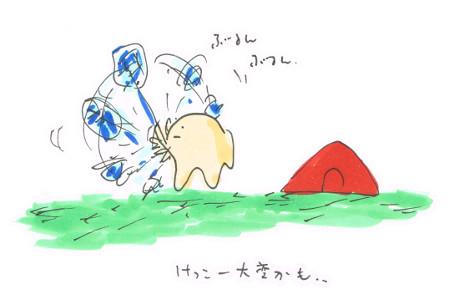 キャンプの洗濯における乾燥問題を解決する~その1