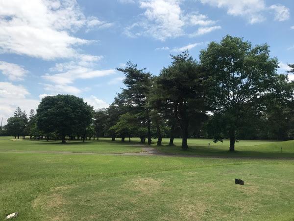 昭和の森ゴルフコースでコンペ