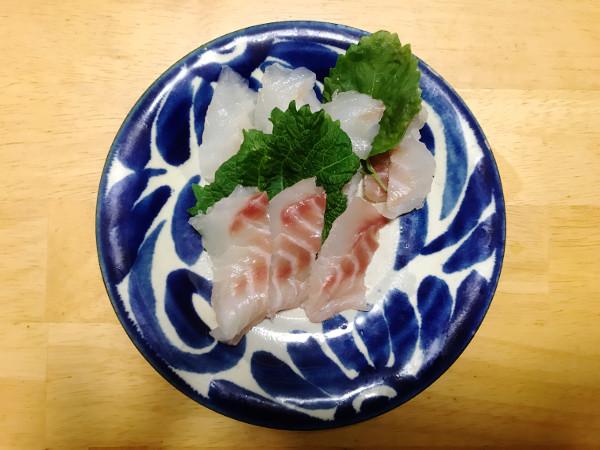 釣魚料理_メジナの昆布締めとカサゴの煮付