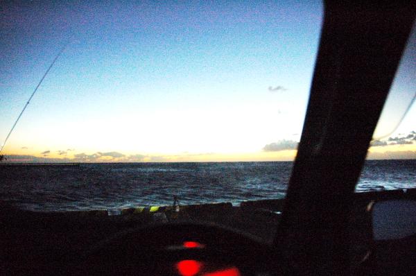大島2017年12月_2日目_寒いし釣れない夜と朝