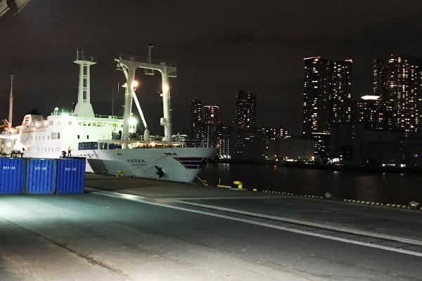 大島2018年2月_今年の初船