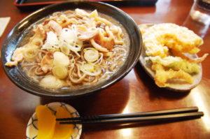 北海道から南下の旅_7日目_1_本日のイベントは「一庵」の冷たい肉そばを食べるのみ