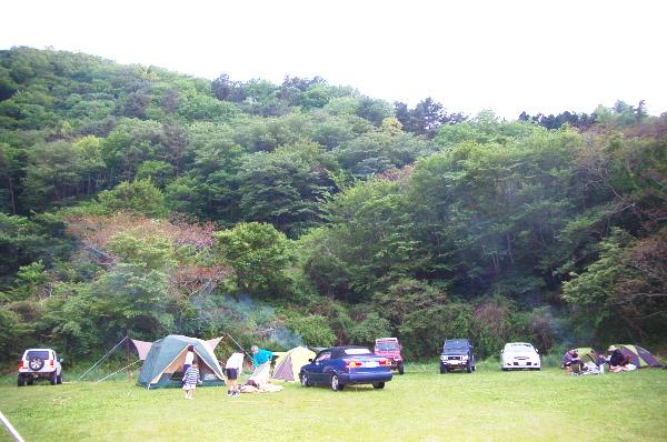 北海道から南下の旅_7日目_2_小玉キャンプ場に心の綺麗な人しか見えない雨が降る