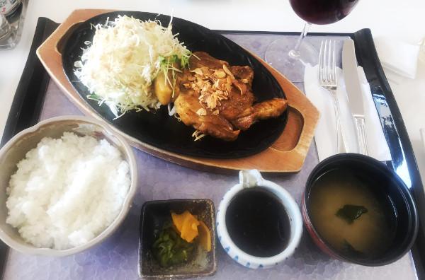 アパリゾート栃木の森ゴルフコース_食事_トンテキ