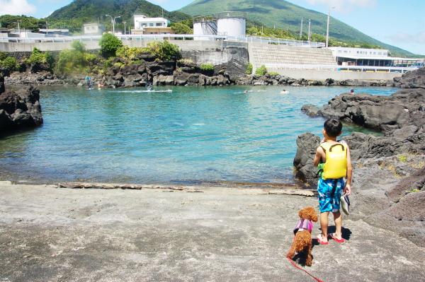 八丈島2019年8月_3日目_海とウミガメと前夜祭の懐メロ