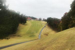 皐月ゴルフ鹿沼コースで雨ゴルフ