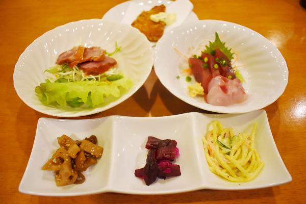 三宅島釣行2020年2月_1日目_2_ホテル海楽の夕食