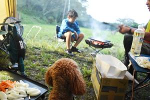 犬連れゴルフ&キャンプ2020年7月_1日目_3_やすらぎの森キャンプ場