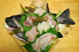 釣魚料理_刺身6点盛など