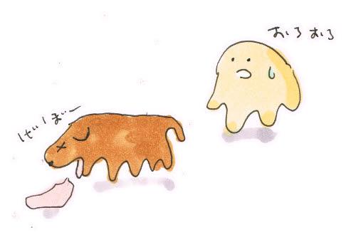 犬の胃腸炎?