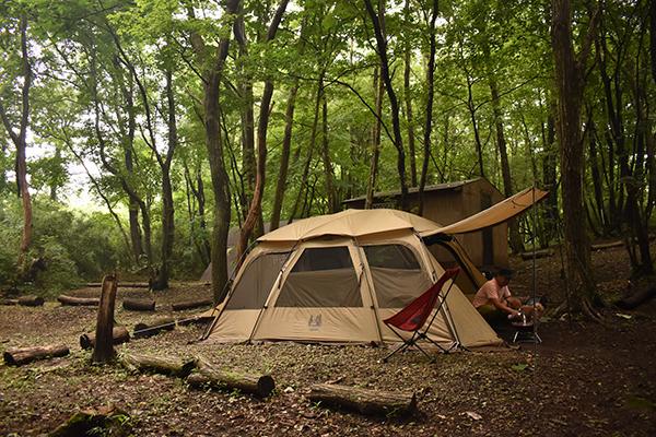 那須キャンプ2021年7月_3日目_人間と犬の朝ごはん